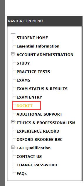ACCA准考证打印步骤